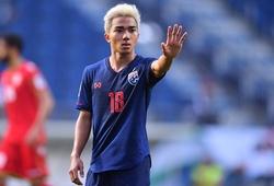 """Đau đớn với trận hòa như thua của Thái Lan, Chanathip """"bực mình"""" với HLV Nishino"""
