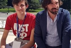 Con trai của HLV Pirlo bị trút giận và đe dọa trên mạng xã hội