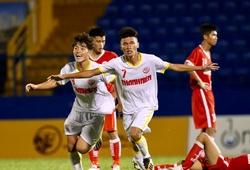 Học trò Văn Quyến, đàn em Công Phượng giành vé vào tứ kết U19 Quốc gia