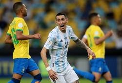 Di Maria lốp bóng chấm dứt cơn hạn hán bàn thắng cho Argentina