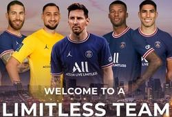 """Đội hình """"dải thiên hà"""" của PSG với Messi và 4 cầu thủ mới"""