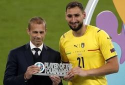 Donnarumma nhận giải thưởng chưa từng thấy tại EURO