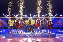 Đội hình bóng chuyền nam xuất sắc nhất VNL 2021