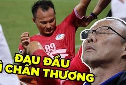 Trọng Hoàng khiến CLB Viettel và HLV Park Hang Seo đau đầu