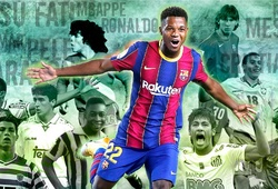 Messi, Ronaldo, Ansu Fati và các siêu sao bùng nổ thế nào trước tuổi 18?