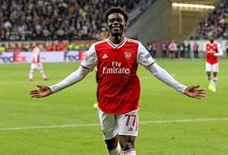 Saka đi vào lịch sử Arsenal với bàn thắng đặc biệt ở Ngoại hạng Anh
