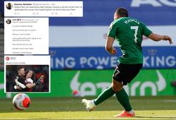 CĐV Arsenal chế giễu tội đồ gây chấn thương vừa sút hỏng penalty