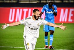 HLV Real Madrid ngây ngất khi Benzema ghi bàn đẹp bậc nhất sự nghiệp