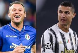 Cựu sao Italia gây sốc khi công kích Ronaldo và Dybala ở Juventus