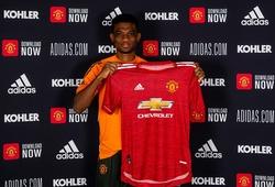 Hình ảnh ra mắt của Diallo với MU sau thương vụ 37 triệu bảng