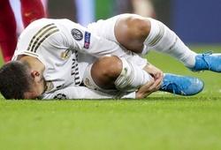Hazard gây chán ngán về đôi chân thủy tinh ở Real Madrid