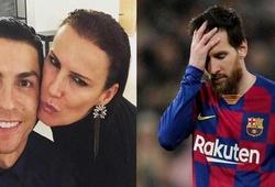 Chị gái Ronaldo gây tranh cãi khi troll Messi bằng hình ảnh độc