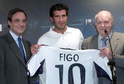 Real Madrid trải qua 20 giờ để gây sốc với Luis Figo như thế nào?