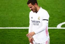 """Hazard """"chân pha lê"""" bỏ lỡ nhiều trận ở Real Madrid hơn cả Bale"""
