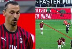 Ronaldo bị Ibrahimovic chọc tức khi khích lệ đồng đội bắt phạt đền
