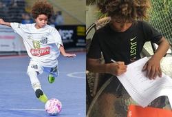 """""""Thần đồng"""" 8 tuổi vượt qua kỷ lục của Messi và Neymar"""