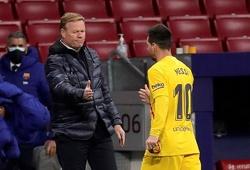 HLV Koeman có quyết định bất ngờ giúp Barca vượt qua khó khăn