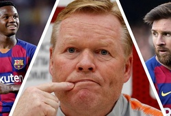 Tuyên bố của HLV Koeman mang lại hy vọng cho 4 cầu thủ trẻ Barca