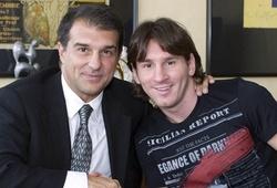 Cựu chủ tịch Barca ca ngợi quyết định sáng suốt của Messi