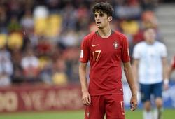 Tân binh Francisco Trincao của Barca lên tuyển Bồ Đào Nha cùng Ronaldo
