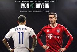 Lịch sử đối đầu, đội hình Bayern Munich vs Lyon, bán kết C1 2020