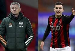 HLV Solskjaer nói gì về Ibrahimovic và Dalot khi MU gặp Milan?