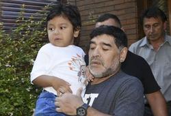 Maradona để lại thông điệp xúc động cho con trai út