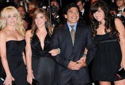Những người phụ nữ trong cuộc đời Maradona là ai?