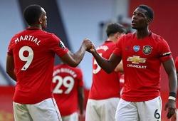 Martial tiết lộ về sự hợp tác giữa Pogba và Fernandes ở MU