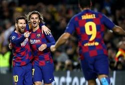 Barca của Messi sẵn sàng áp đảo Napoli nhờ kỷ lục sân nhà