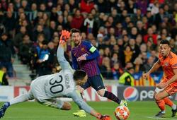 Messi là ông vua thực sự của vòng 1/8 Champions League