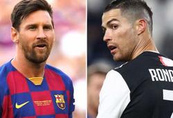 Messi vượt trội Ronaldo về thống kê ở 5 giải hàng đầu châu Âu