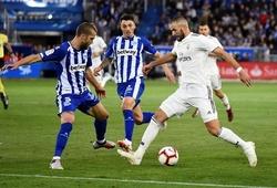 Lịch thi đấu bóng đá hôm nay 10/7: Real Madrid vs Alaves