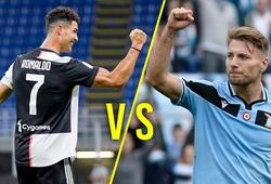 Juventus vs Lazio: Ronaldo đấu với Immobile