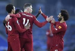 Salah đạt 100 bàn kết hợp nhanh nhất Liverpool ở Ngoại hạng Anh