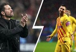 HLV Simeone nói gì về khả năng Messi gia nhập Atletico Madrid?