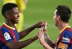 Messi cũng phải ghen tị với kỷ lục mới của Ansu Fati