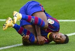 Barca nhiều chấn thương chưa từng thấy sau một thập kỷ