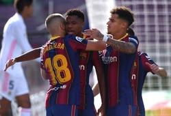 Barca đạt mốc 400 bàn thắng ở trận Siêu kinh điển