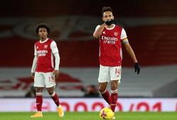 Arsenal lặp lại kỷ lục tồi tệ sau 61 năm khi thua Burnley