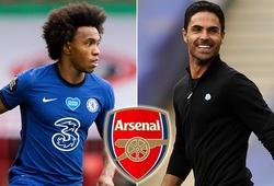 Arsenal trả lương khủng cho Willian dù sa thải 55 nhân viên