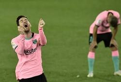Barca giành điểm tệ nhất La Liga sau 18 năm