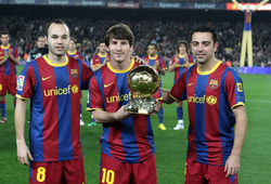 """Barca kỷ niệm tròn 10 năm hưởng """"trái ngọt"""" của lò La Masia"""