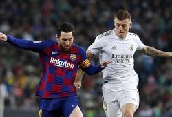 Barca có thể bước vào trận tiếp theo với 7 điểm ít hơn Real Madrid