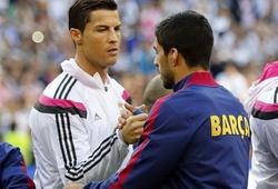 """Suarez từng có 2 tuyên bố khiến """"đồng đội mới"""" Ronaldo chạnh lòng"""