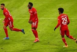 Hậu vệ Bayern Munich đạt tốc độ phi thường trong mưa tuyết