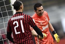 Ibrahimovic và Buffon nhắm tới 7 kỷ lục khi Serie A trở lại