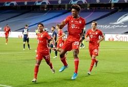 Coman đứng vào hàng ngũ những nhân vật lịch sử ở Champions League