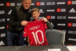 Kai Rooney tiếp bước cha ký hợp đồng với MU
