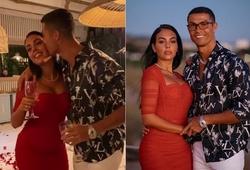 Cristiano Ronaldo tổ chức bữa tiệc đặc biệt với bạn gái Georgina